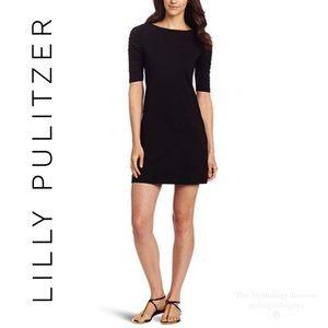 Lilly Pulitzer Black Pima Cotton Kaleb Dress
